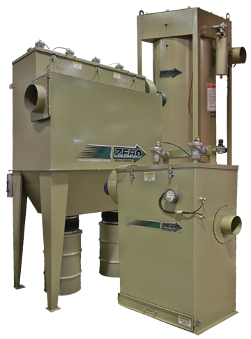 Clemco Abrasive Blast Dust Collectors